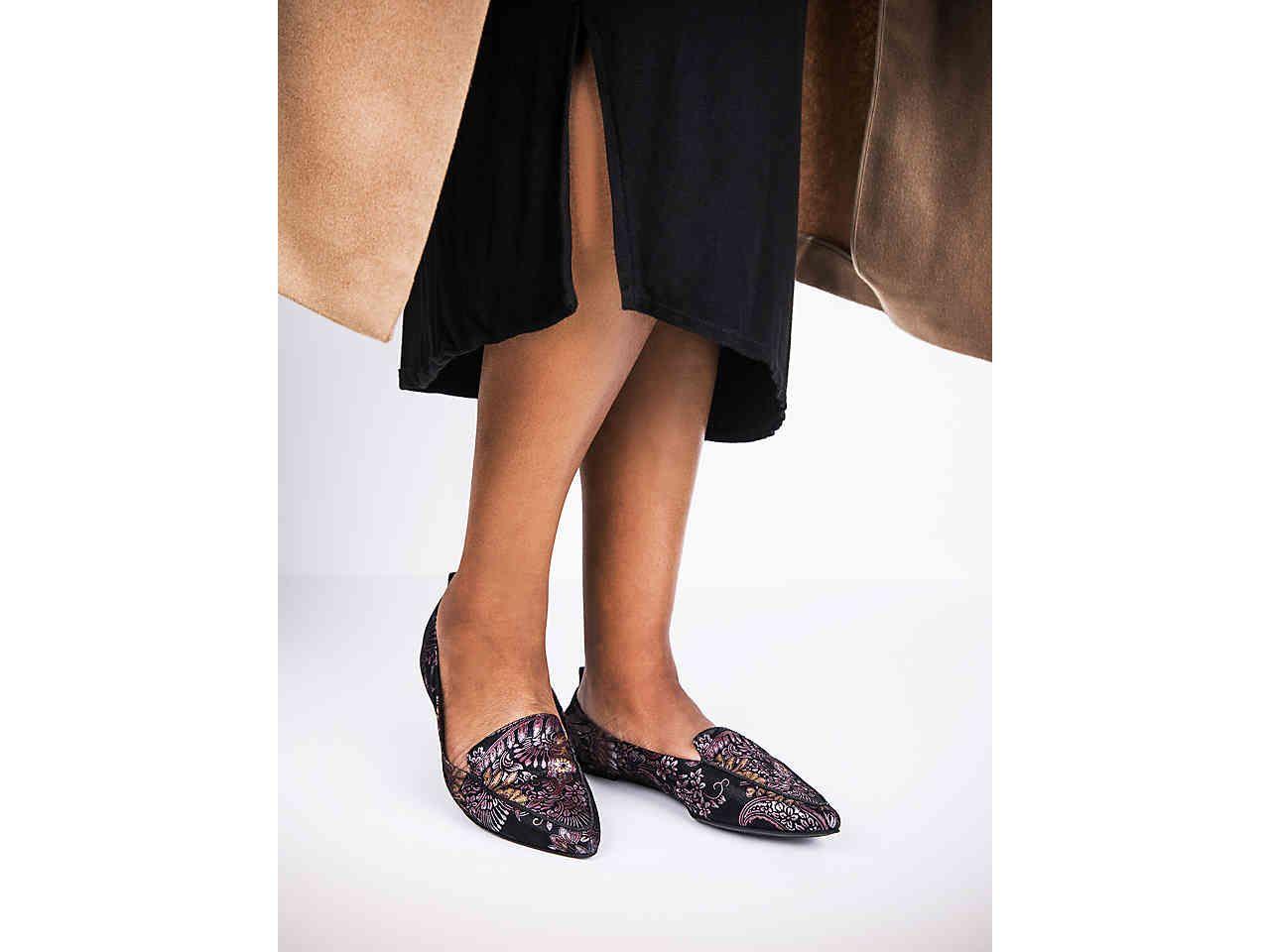 Perfect Styles Nicole Miller Artelier Simon Suede Pump Purple For Women On Sale