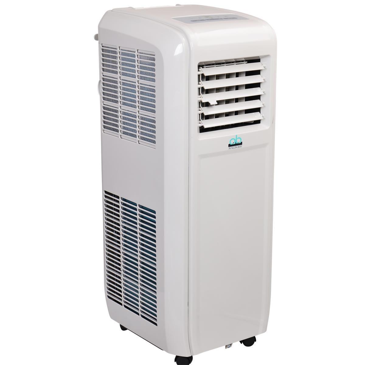 Air Conditioner Fan : Avalon bay ab k btu portable air conditioner is eco
