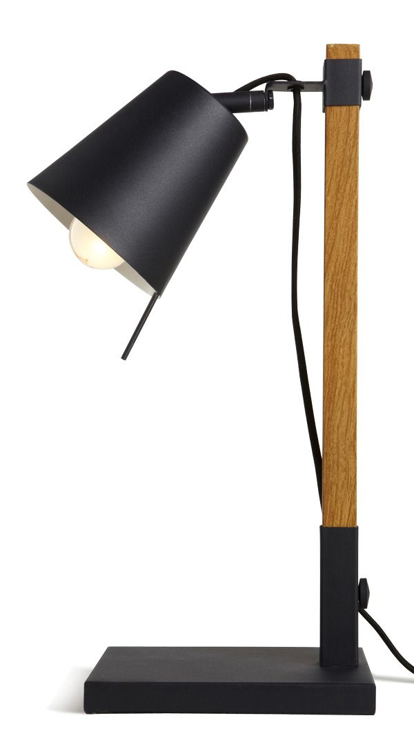Lampe A Poser Liber Marron Castorama Lampe Bois Lampe Decoration Lamp