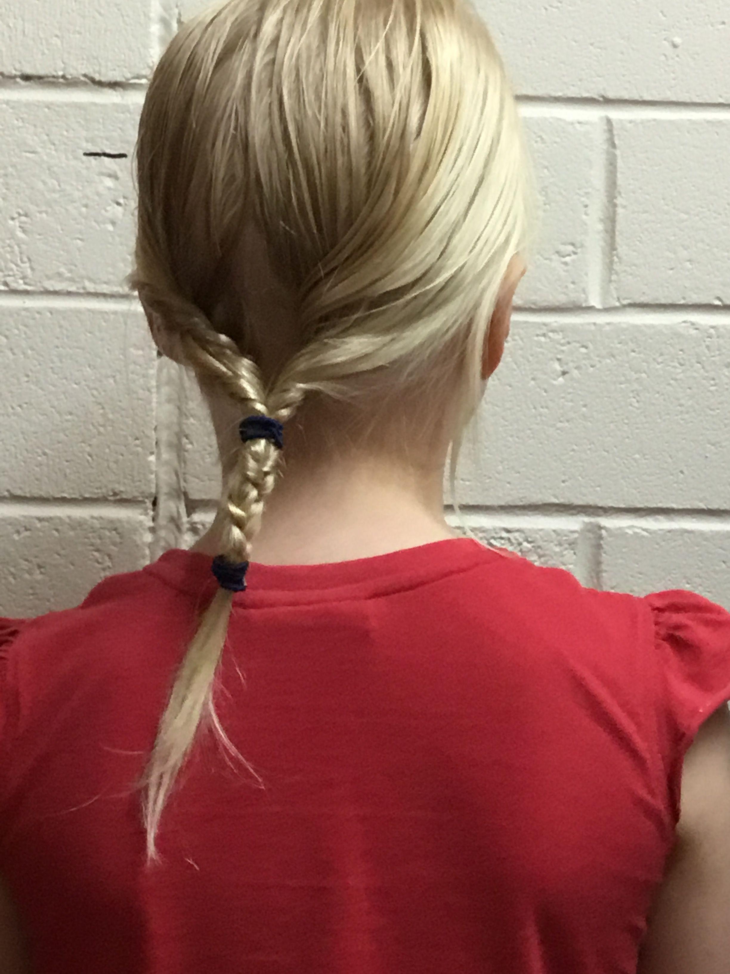 Cute easy school hair style easyhairstyles easy hairstyles