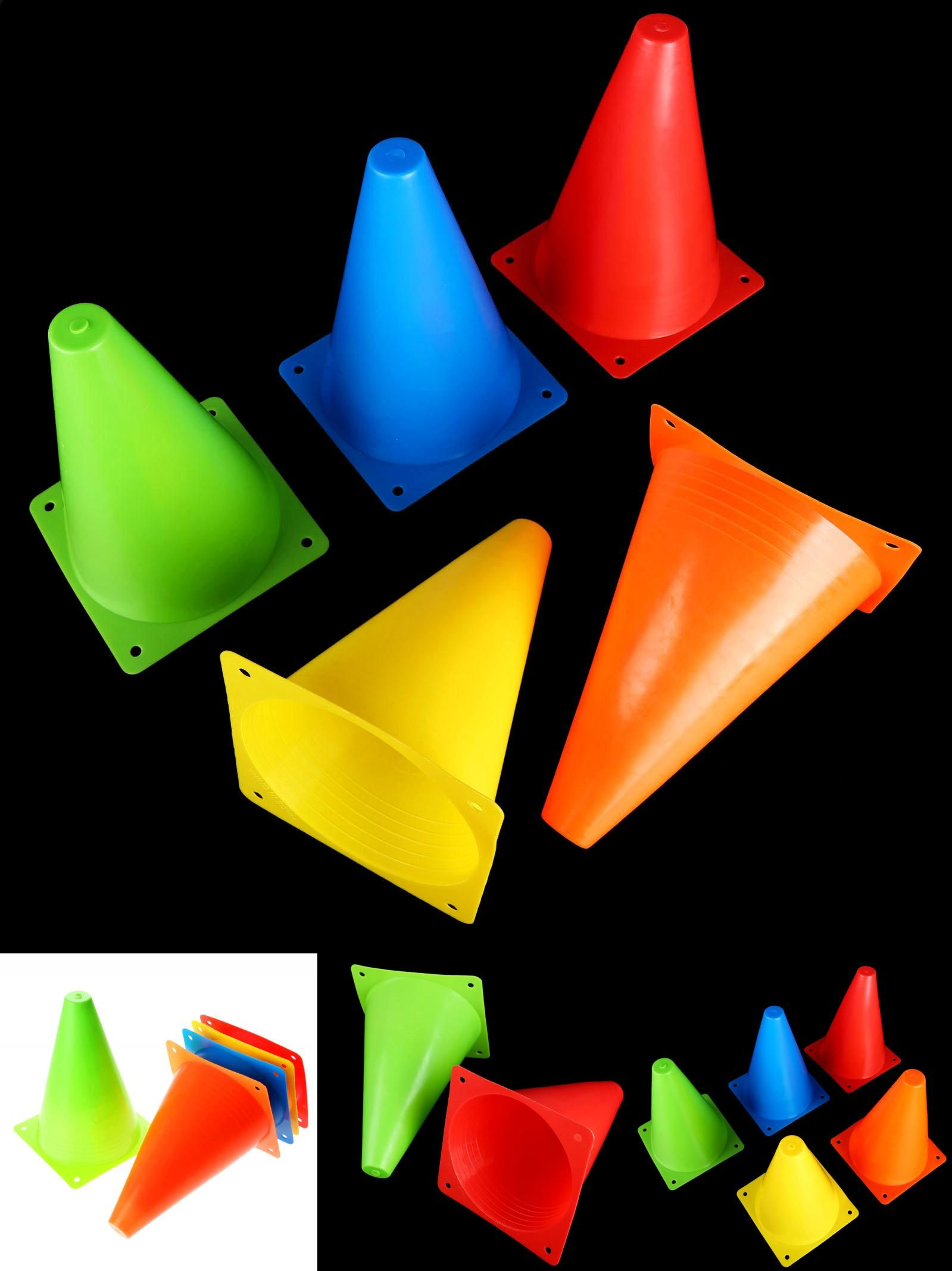 [Visit to Buy] 6Pcs 18cm Traffic Agility Cones Marker
