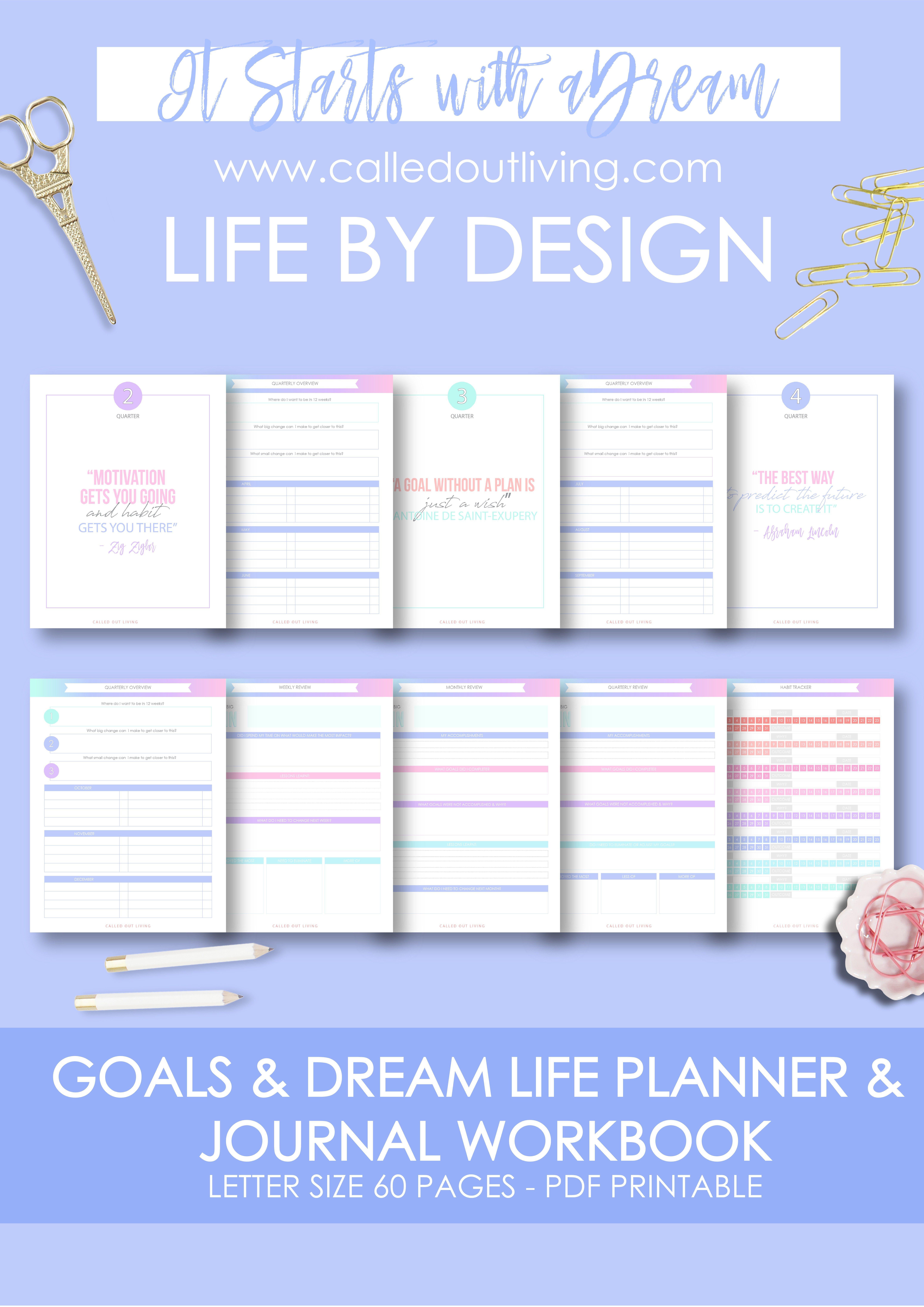 Goal Amp Dream Life Planner