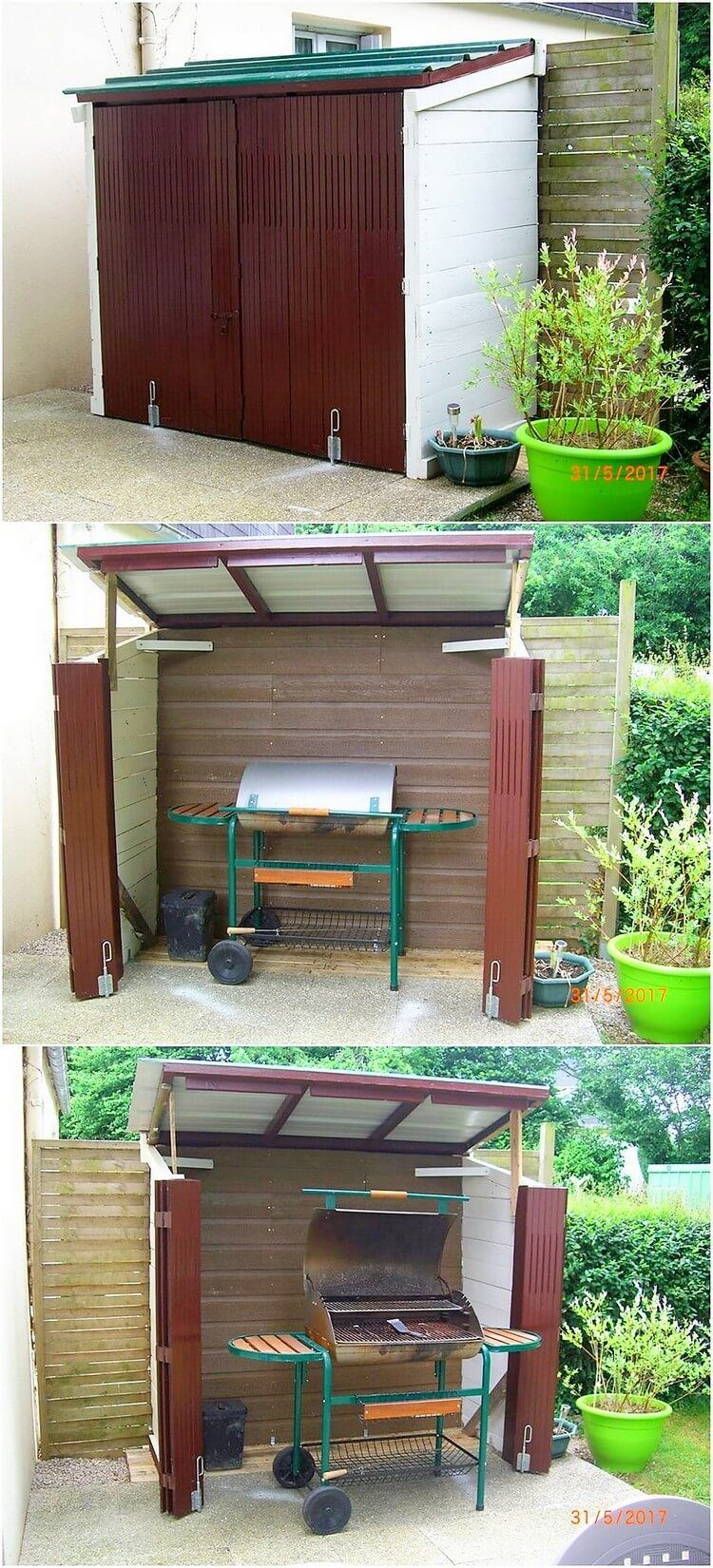 Excellent DIY Ideas with Old Shipping