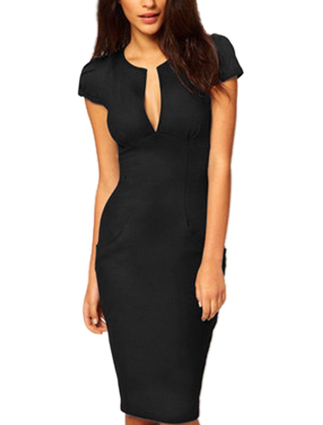 Walmart Work Dresses For Women Slim Fit Dresses Fashion [ 1447 x 1100 Pixel ]