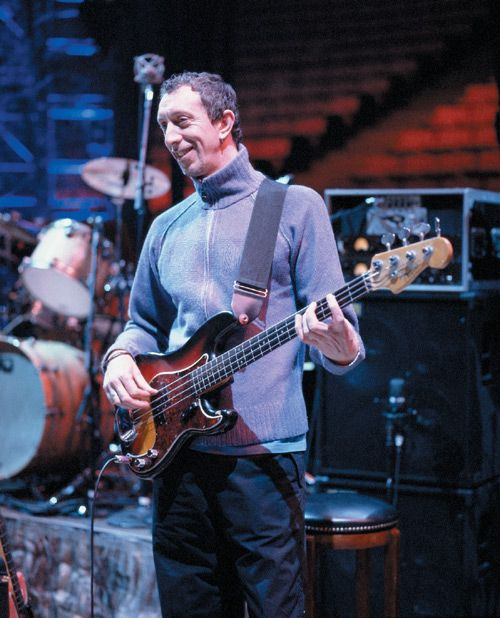 Pino Palladino - The only person who could ever possibly, replace The OX. One of the most famous session players of all time, known for his beautiful and gentle bass riffs.
