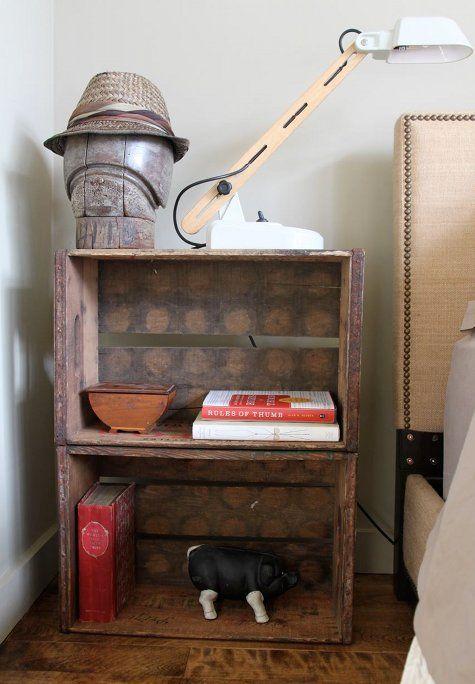 Sneak Peek Ed Roth Of Stencil 1 Wooden Crates Nightstand Crate Nightstand Crates