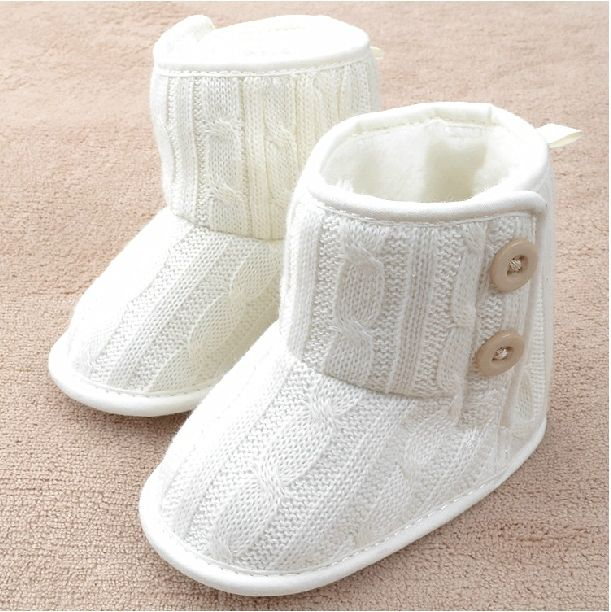 Baby Girl Boy Fashion Snow Boots Toddler Winter Soft