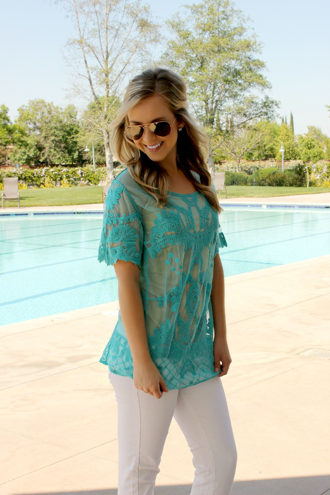 Blue Agave Blouse