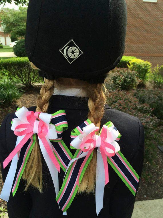 Horse Show hair bow