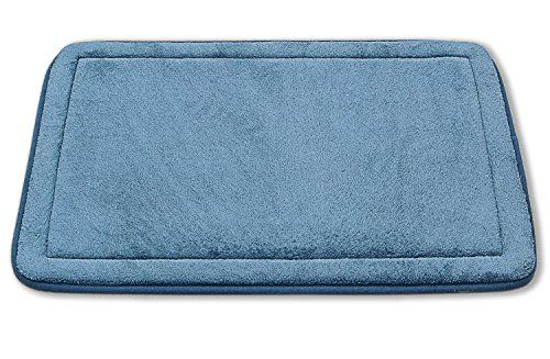 Comfortable Non Slip Luxurious Soft Memory Foam Bath Rug Mat 17