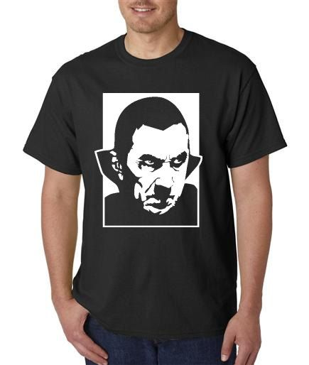 Count Dracula Inspired Vinyl TShirts by MasquedMinis on Etsy