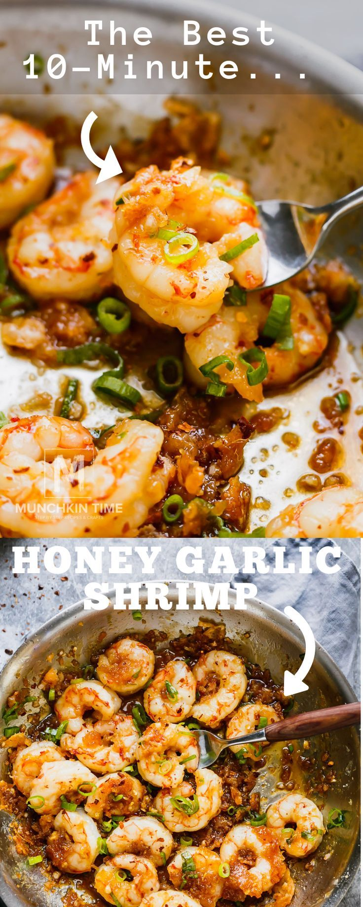 Photo of 10-minute Honey Garlic Shrimp Recipe