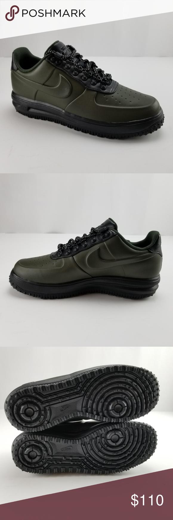 Nike LF1 Duckboot Low Casual Shoes Sequoia Green Black AA1125-300 Men/'s NEW