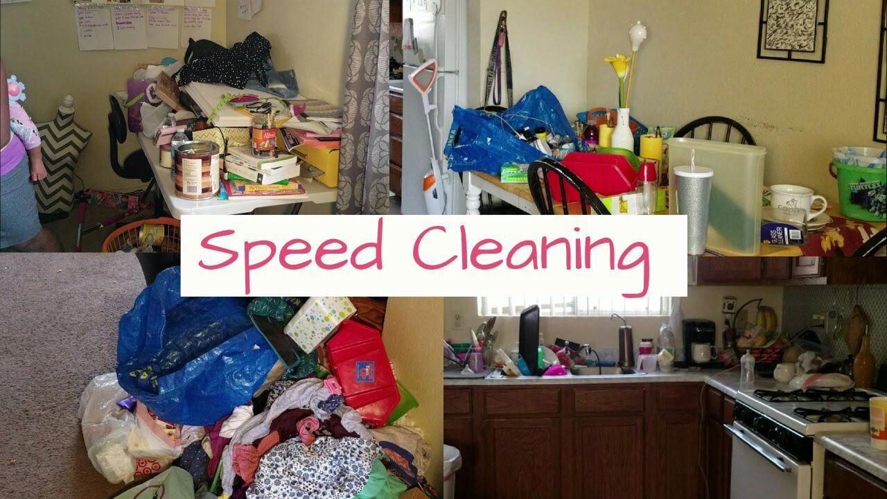 Motivational Cleaning My Messy House Real Life Hour Clean Wit