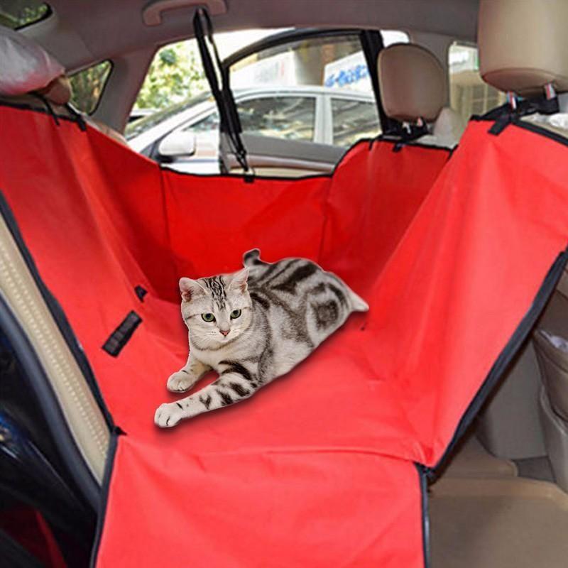 Car Back Seat Cover Cat Dog Footprint Protector