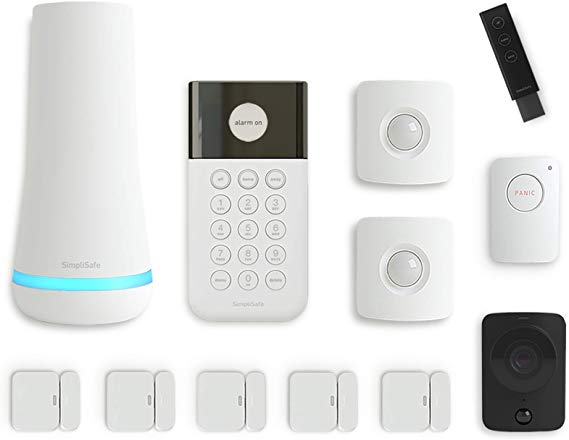 Simplisafe 12 Piece Wireless Home Security System W Hd Camera Optional 24 7 Professional In 2020 Best Digital Camera Wireless Home Security Systems Hd Digital Camera