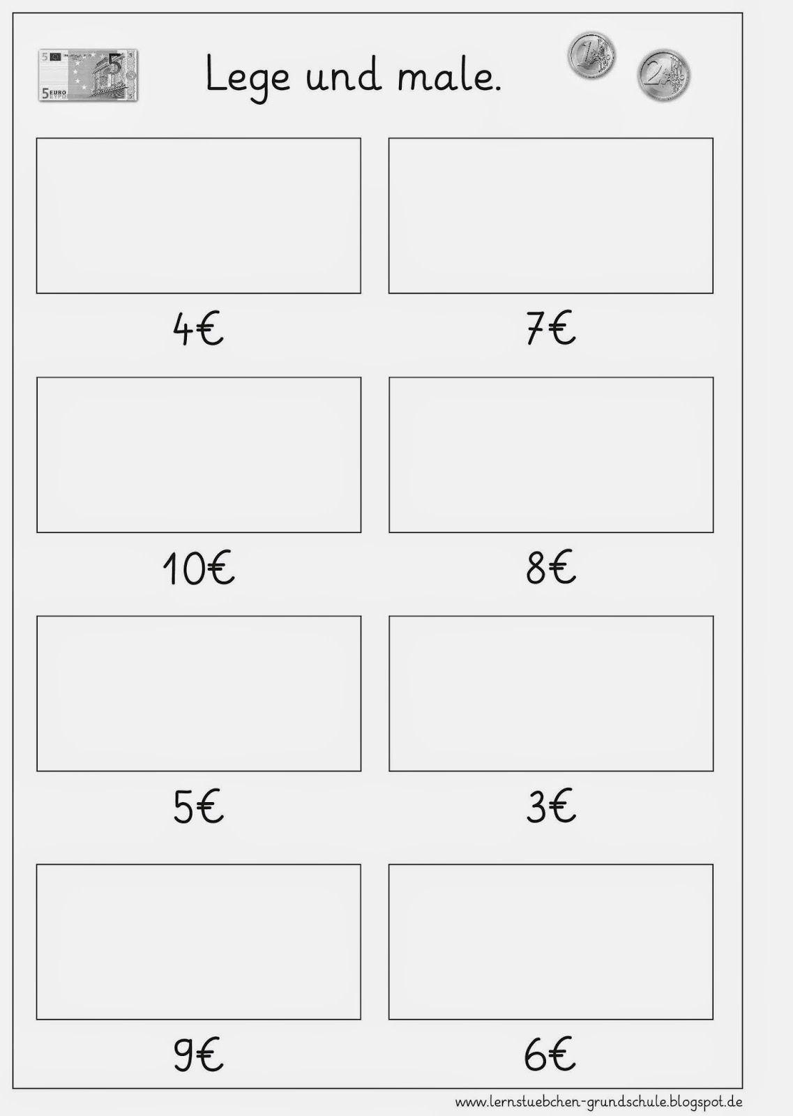 lernst bchen ma 1 4 geld schule rechnen mit geld rechnen und schulideen. Black Bedroom Furniture Sets. Home Design Ideas