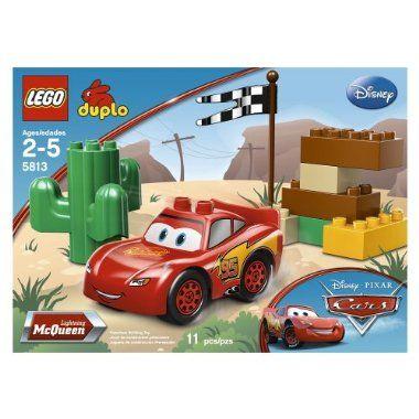Disney Cars 2 Lego Duplo Lightning McQueen set. (not a direct link ...