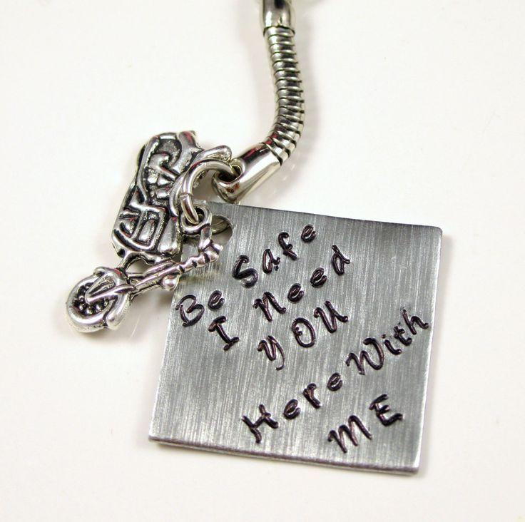 Fathers Day Gift Keychain Biker Dad Gift Boyfriend Harley ...