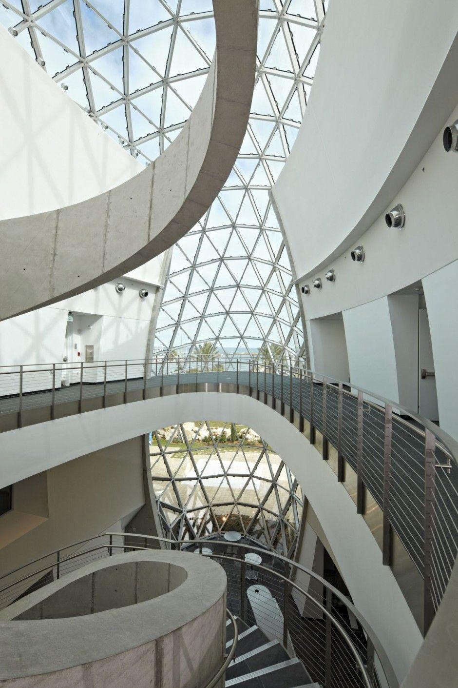 Salvador Dali Museum Design Hok - Architecture & Interior Ideas And Online