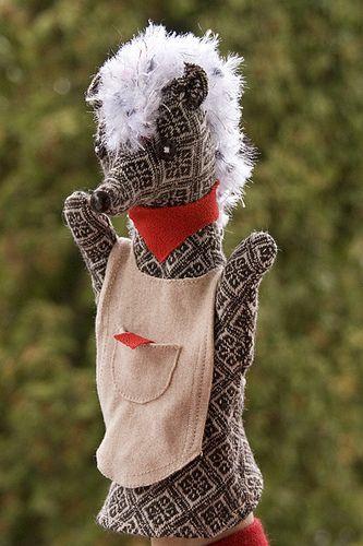 Hedgehog Hand Puppet | by Handmade Goodies