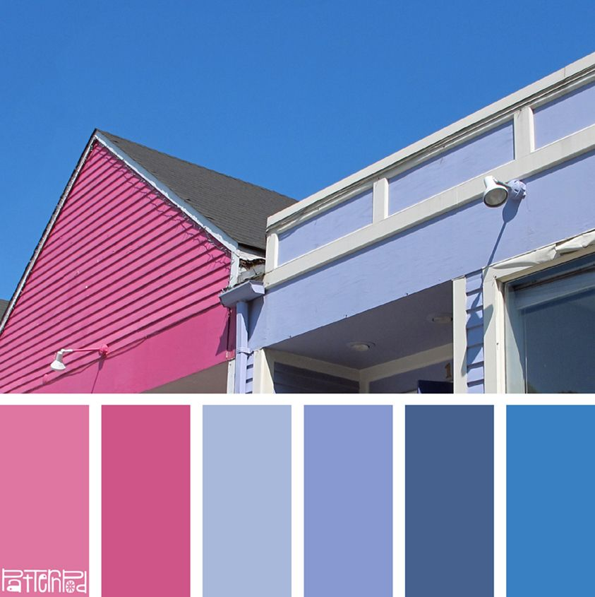 Color Palette Pink Periwinkle Blue If You Like Our Inspiration Sign Up For Monthly Trend Letter Click The Image Link