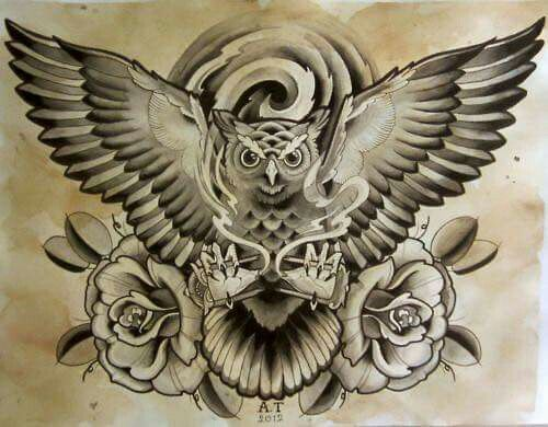 Owl Tattoo Design Owl Tattoo Chest Owl Tattoo Trendy Tattoos