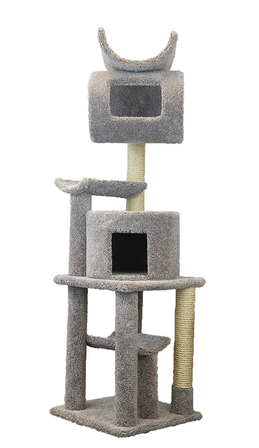 Carpeted Cat Trees And Condos