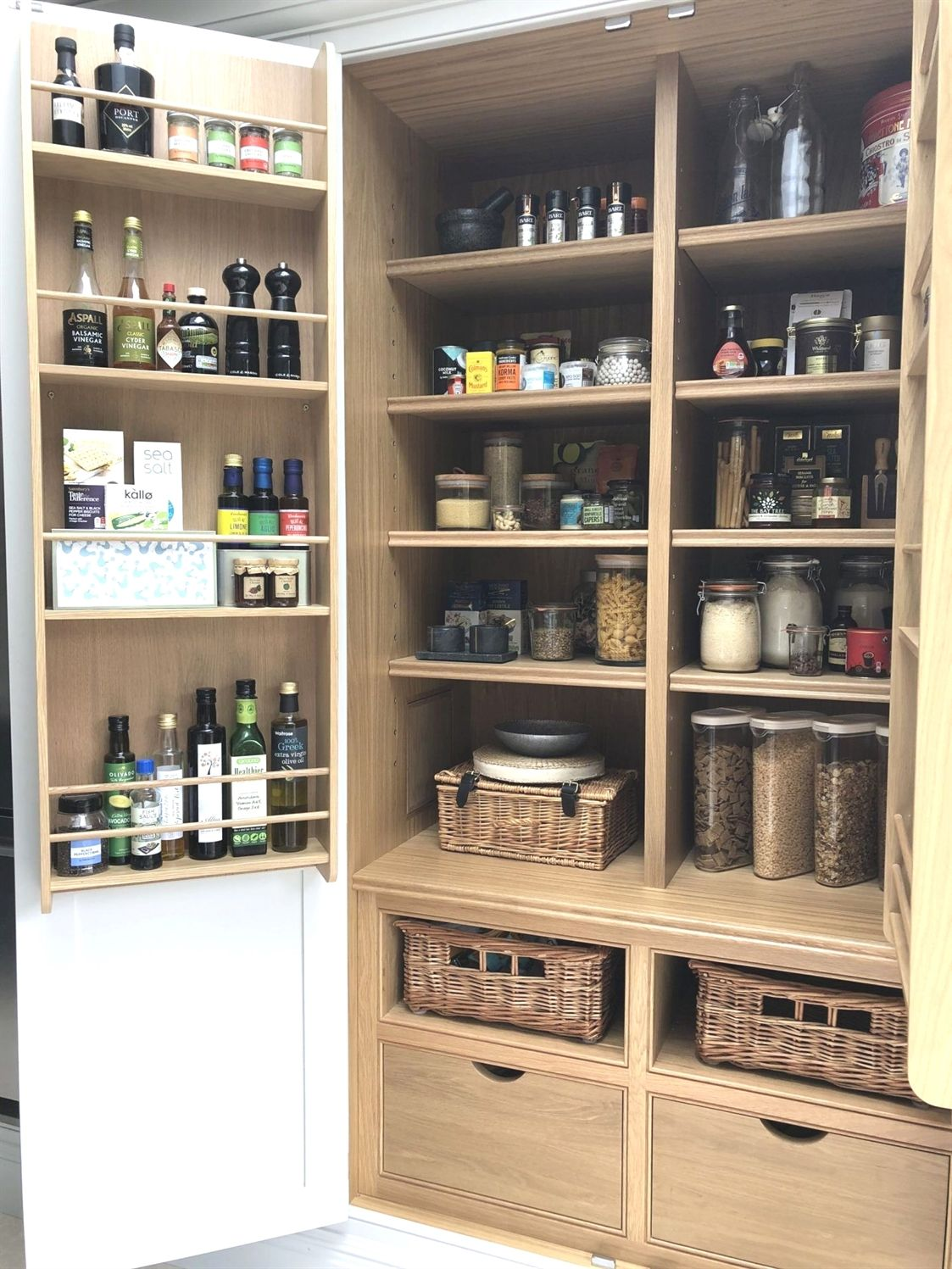 Exposed Pantry Ideas