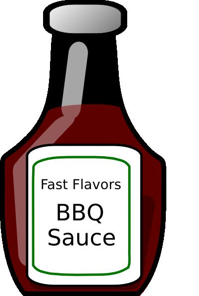 Bbq Sauce Bottle Clip Art At Clker Com Vector Clip Art Online 9syodb Clipart Png 402 599 Bbq Sauce Bbq Sauce
