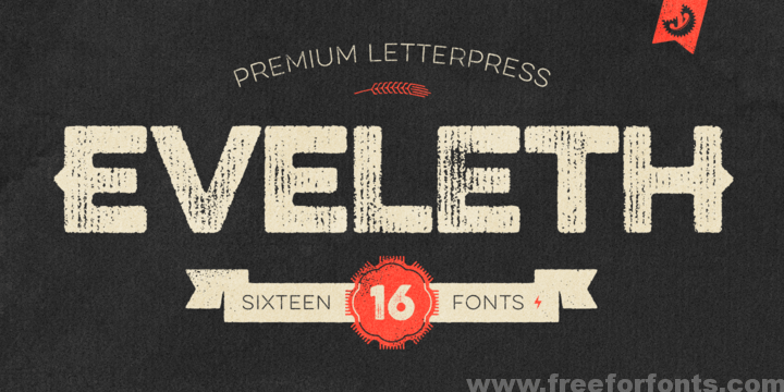 Eveleth Font Free Download | Free For Fonts | Fonts & Hand