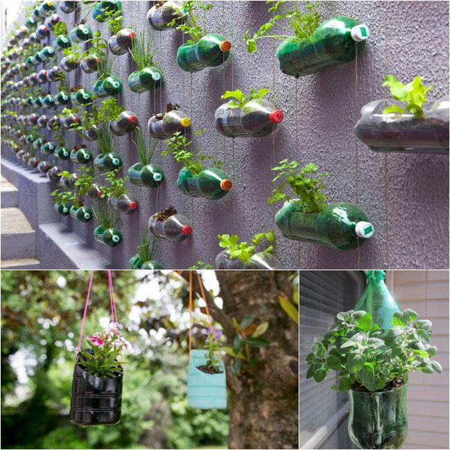 16 diy to reuse plastic bottles bitki bak m pinterest garten vertikaler garten und. Black Bedroom Furniture Sets. Home Design Ideas