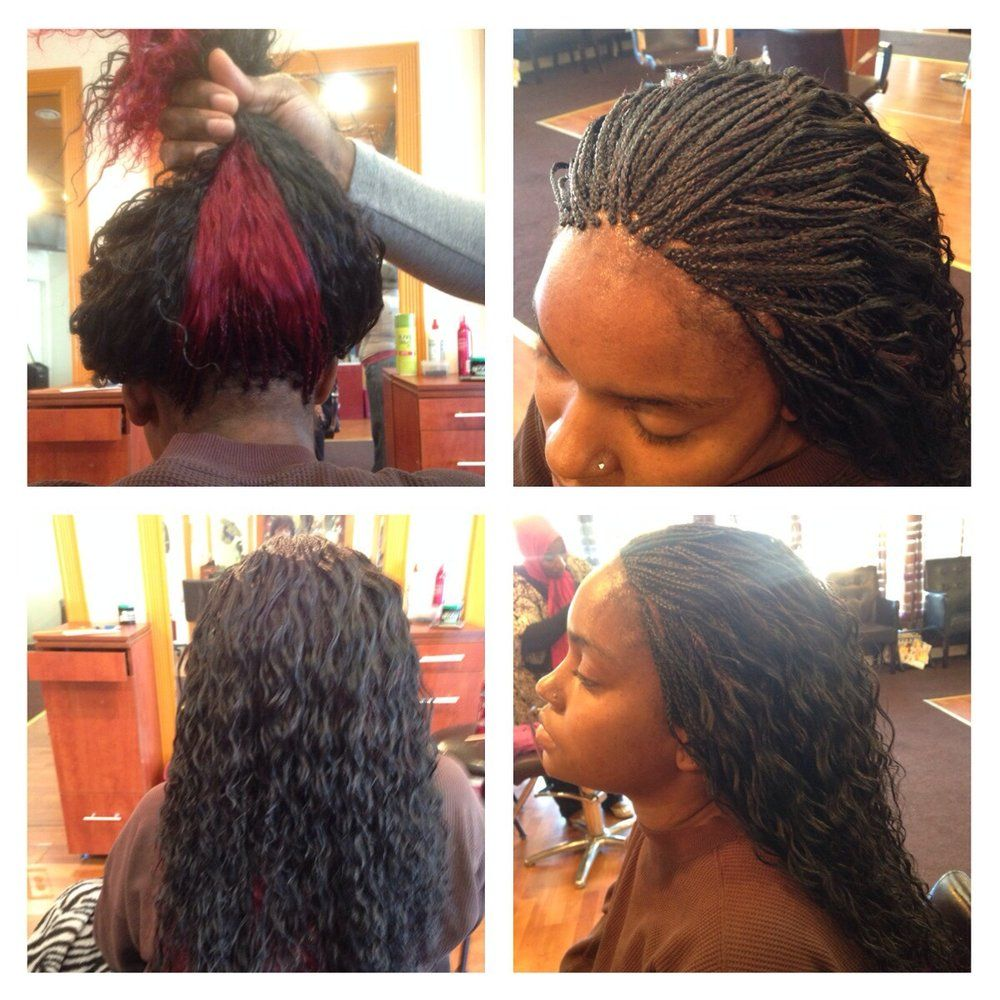 pin on nubian braids♡♥ | micro braids, wavy hair, hair styles