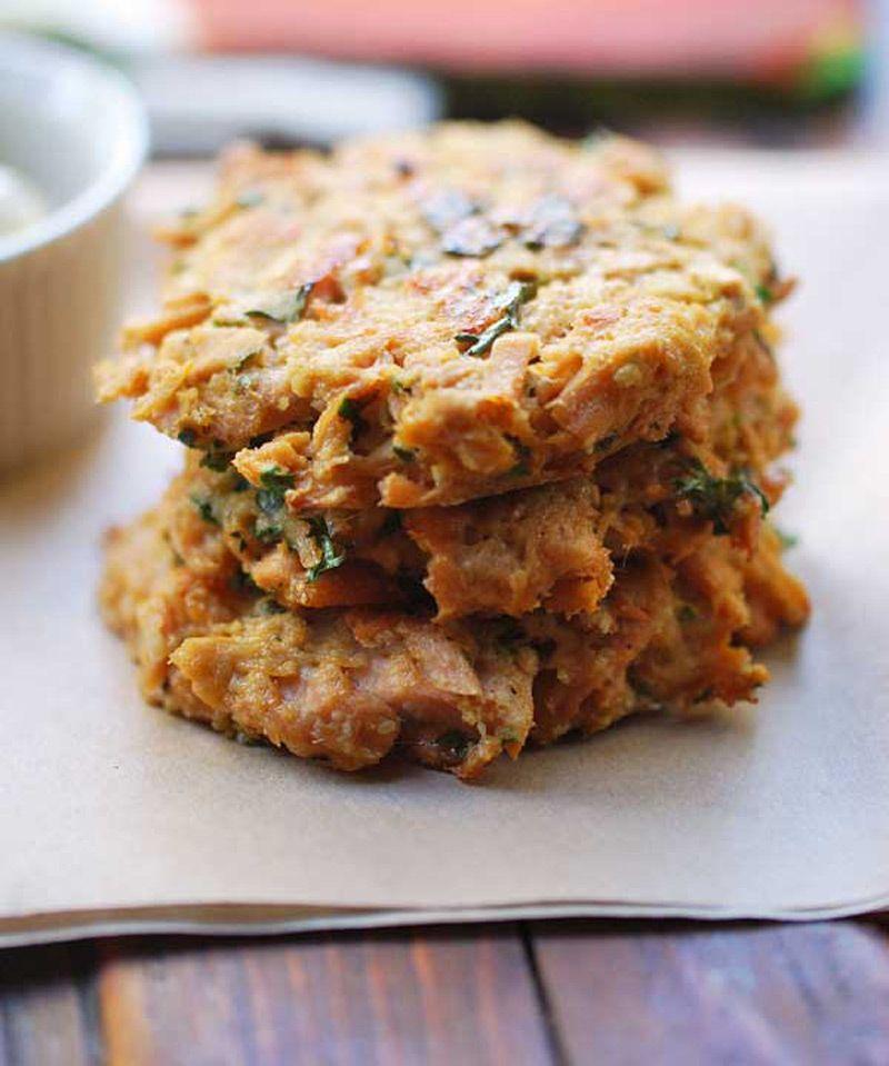Delicious Baked Tuna Patties with Tartar Sauce – 1K Recipes