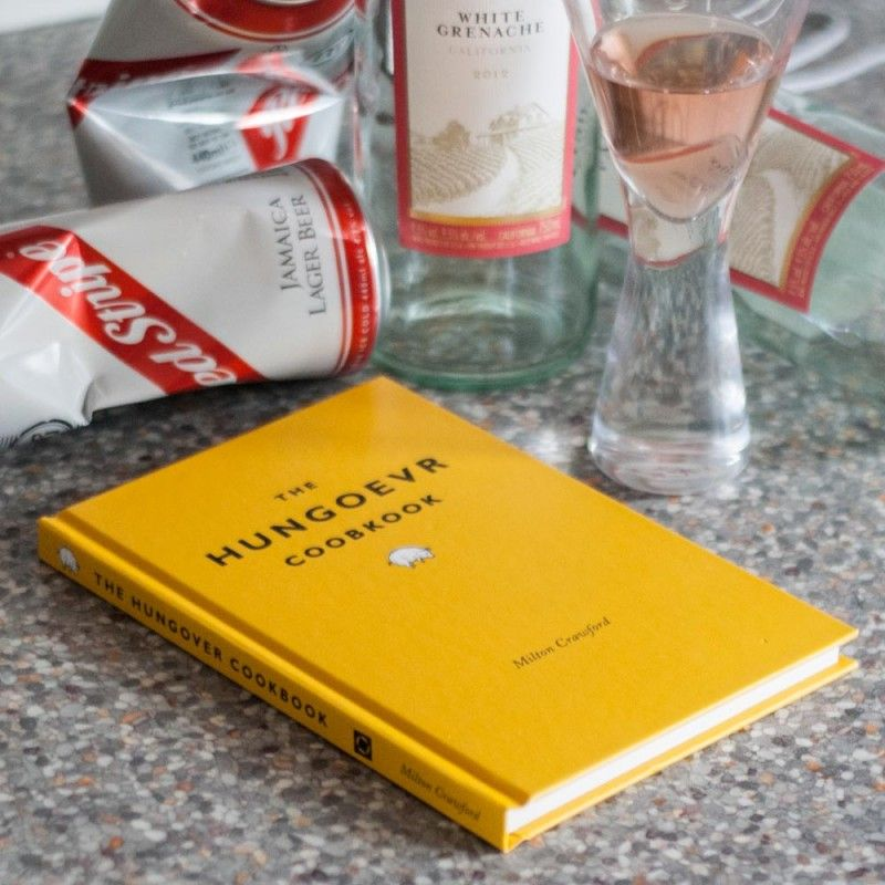 The Hungover Cookbook Examine You Hangover State And Make A Meal To Fix It Original Gifts Good Birthday Presents Unusual Gifts