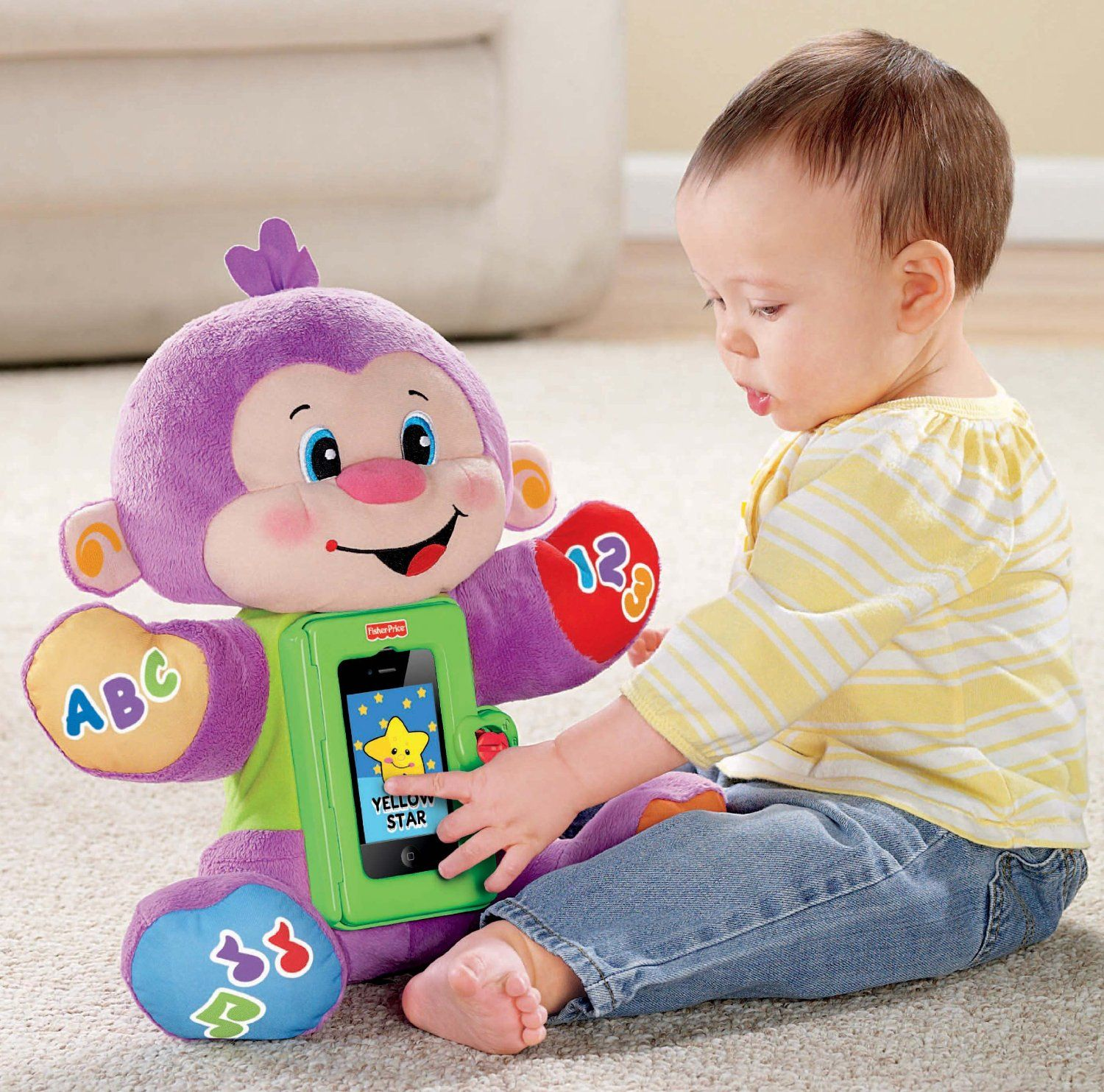 Babyproof iPhone 4 case Fisher Price iPhone Toy Laugh and Learn