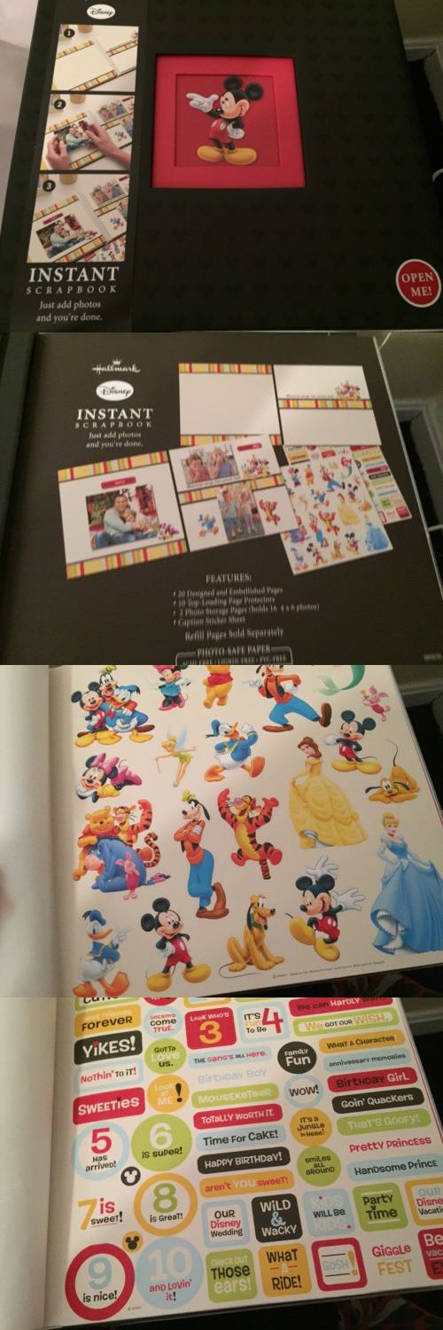 Albums And Refills 33875 Disney Hallmark Mickey Mouse Instant