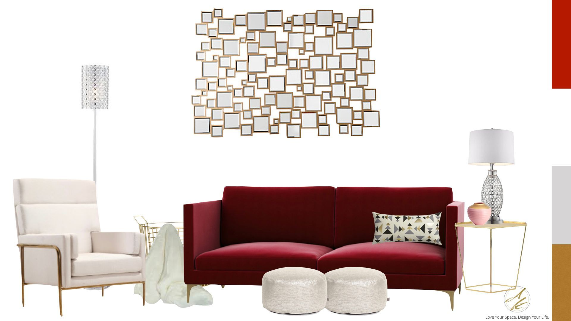 High Quality Whatu0027s Your Interior Design Style? Could You Be Contemporary Glam? Take The  Albie Knows