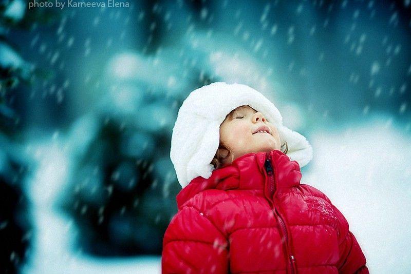 Волшебная зима: дети и животные в лесу (20 фото Елены ...