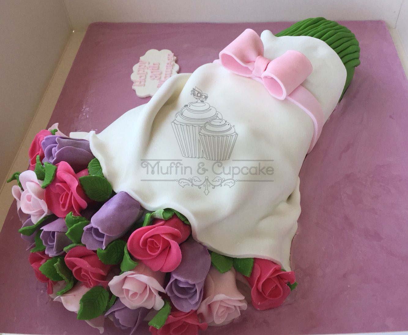 Bouquet of flowers cake muffin cupcake pinterest muffin cake bouquet of flowers cake izmirmasajfo