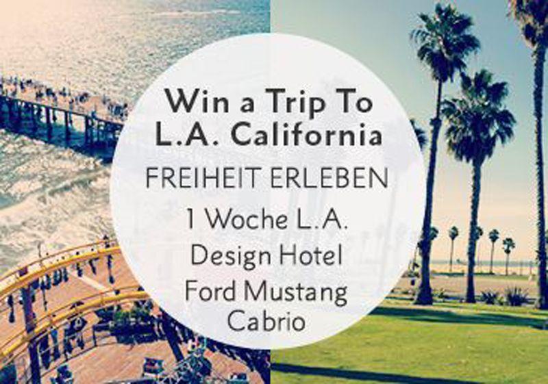 Gewinne im Street One Wettbewerb eine 7-tägige Reise nach Los Angeles (Kalifornien, USA) inklusive Flug, Hotel und einen Mietwagen (Ford Mustang Cabrio) im Gesamtwert von 3'000.-!  Gewinne hier eine Reise: http://www.gratis-schweiz.ch/gewinne-eine-woche-los-angeles/