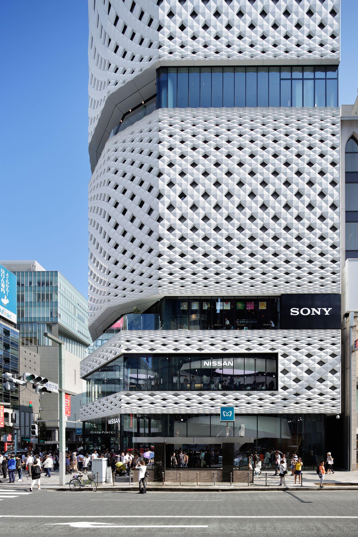 Klein dytham ginza place nac sa partners ausschnitte architektur japanische architektur - Japanische architektur ...