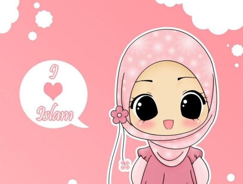Terbaru 30 Gambar Kartun Imut Pink Deretan Gambar Kartun Muslimah Lucu Cantik Dan Imut Untuk Fb Download Happiness Is 500 Ways To Show Di 2020 Kartun Animasi Lucu