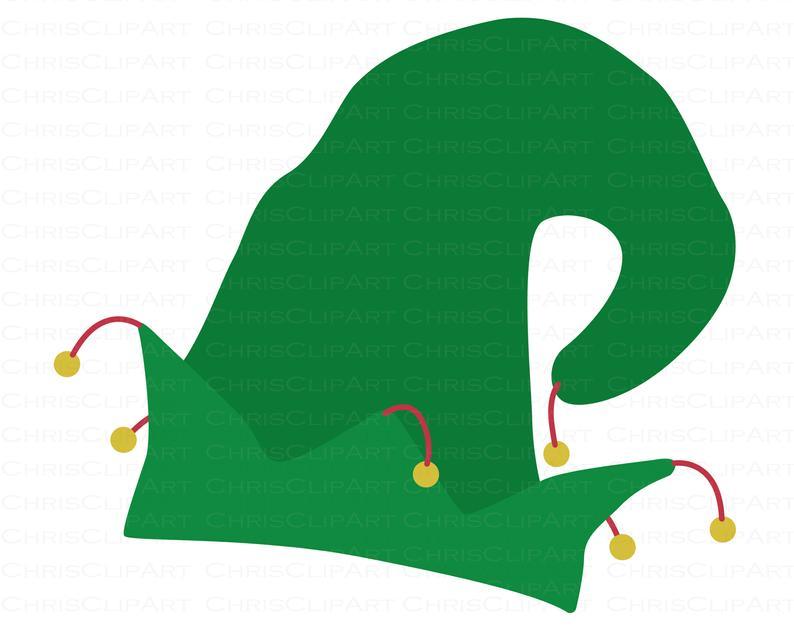 Elf Hat Svg Elf Hat Png Christmas Elf Svg Elf Hat Clipart Etsy Elf Hat Clip Art Christmas Elf