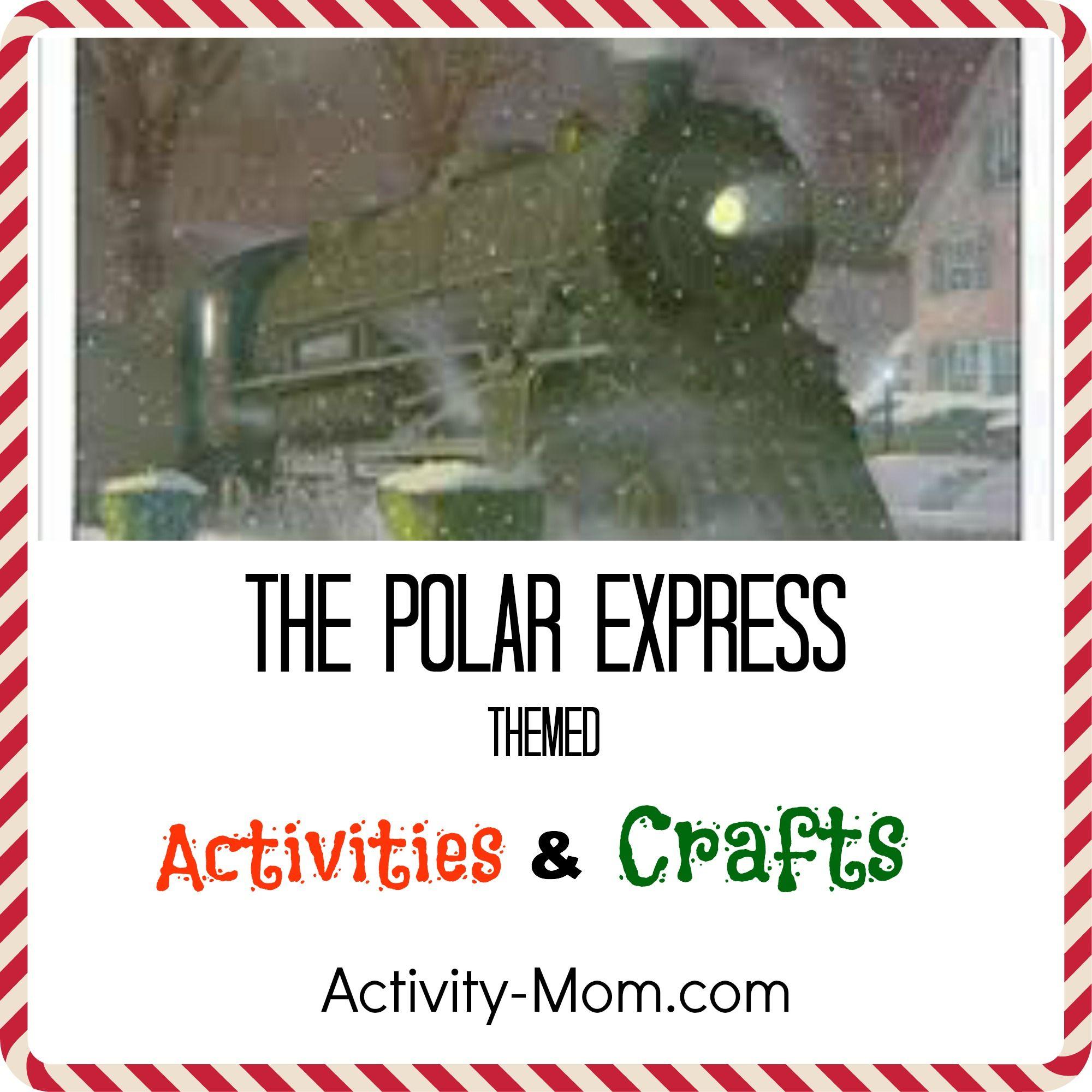 Polar Express Themed Activities