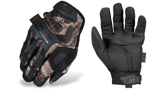 Mechanix Wear Mossy Oak M-Pact Glove Knuckle Guard: Impact Guard™ integrated with TPR knuckle and finger protection for improved dexterity. Impact Palm: A second layer of material aids in durability with PORON® XRD™ for impact absorption.