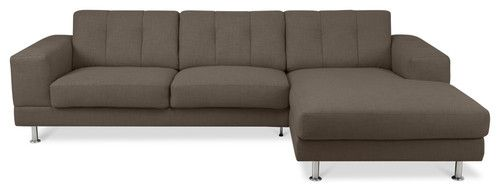 bayswater khaki sectional couch l modern sofas