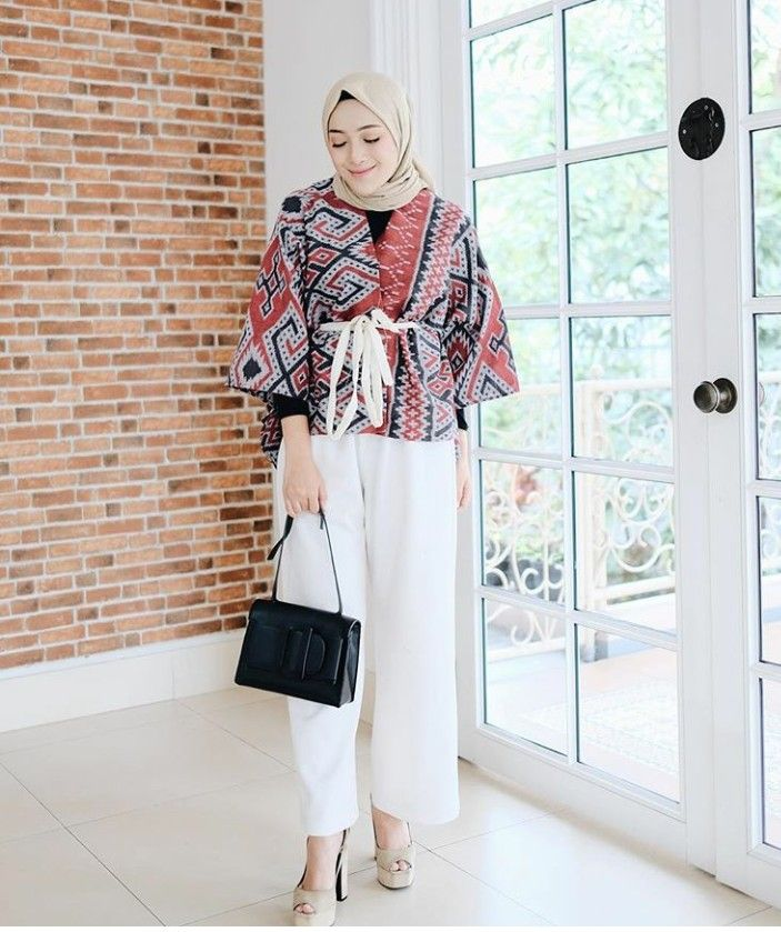 ashryrrabani Casual hijab outfit Model pakaian muslim