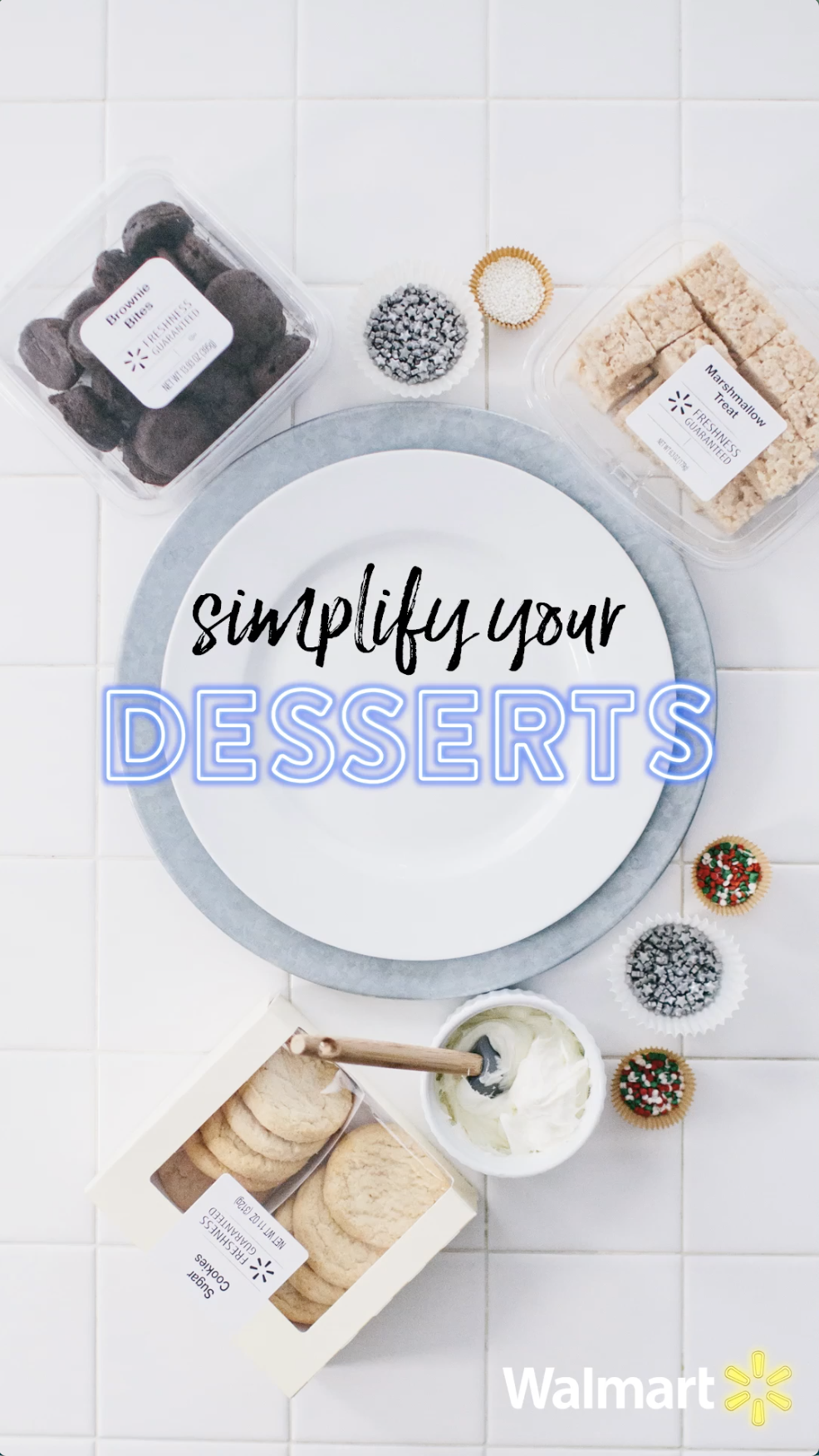 Create the perfect holiday dessert platter in minutes with no baking