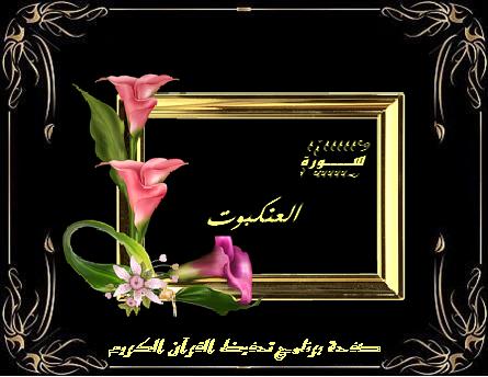 سورة العنكبوت ٦٩ آية صفحة واحدة Quran Kareem Chalkboard Quote Art